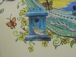 mural - bird