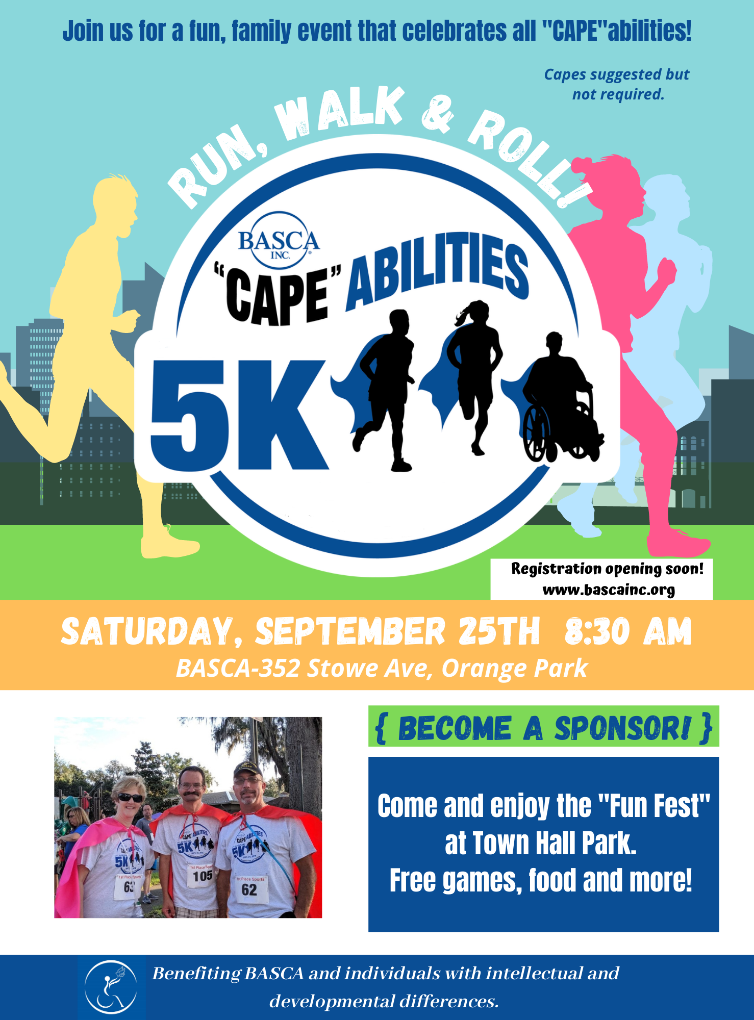flyer for 5 K event